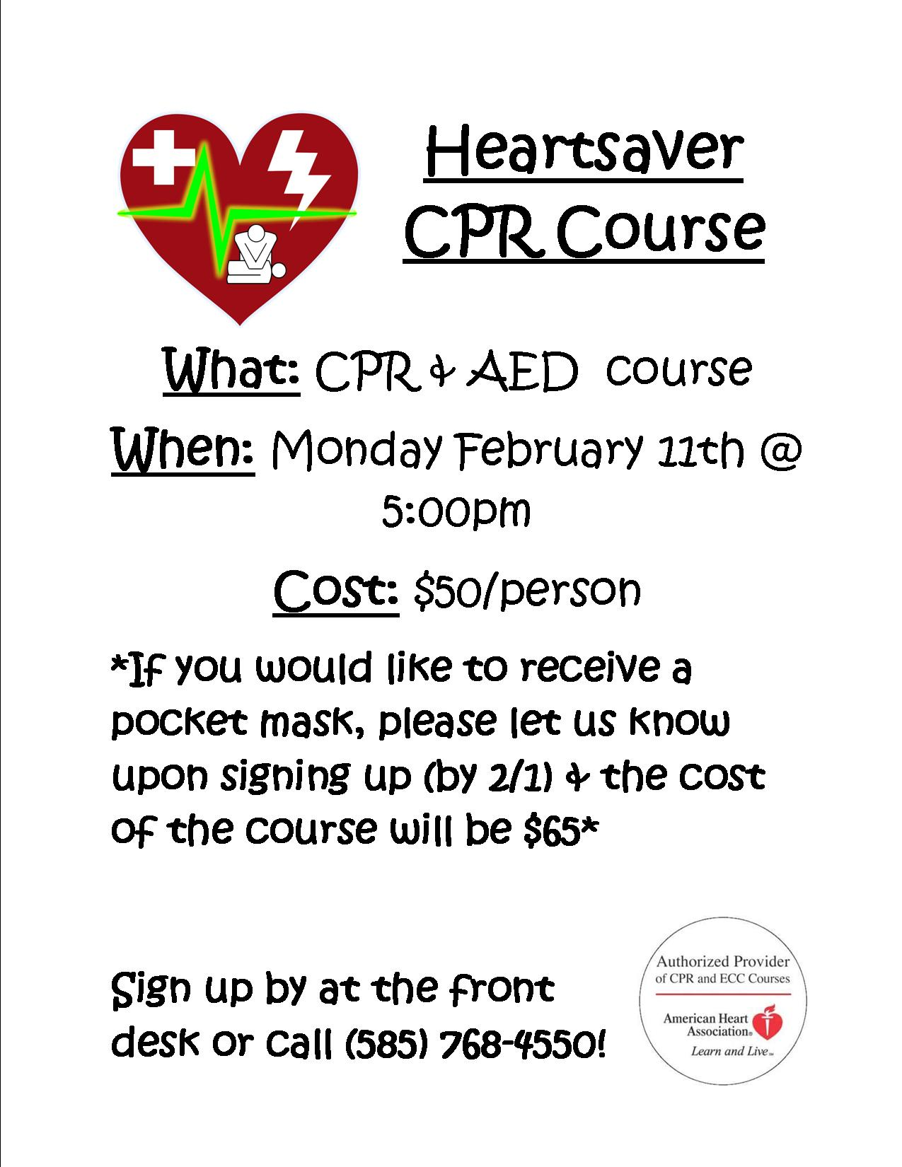 Village Fitness Offers Cpr And First Aid Training